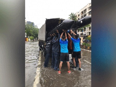 Mumbai rains: Navy deploys team to assist in rescue ops; at least 1,000 people evacuated from Kranti Nagar in Kurla, says BMC