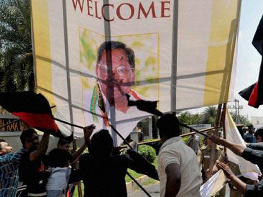 MDMK workers leave for Sanchi to protest Rajapakses visit