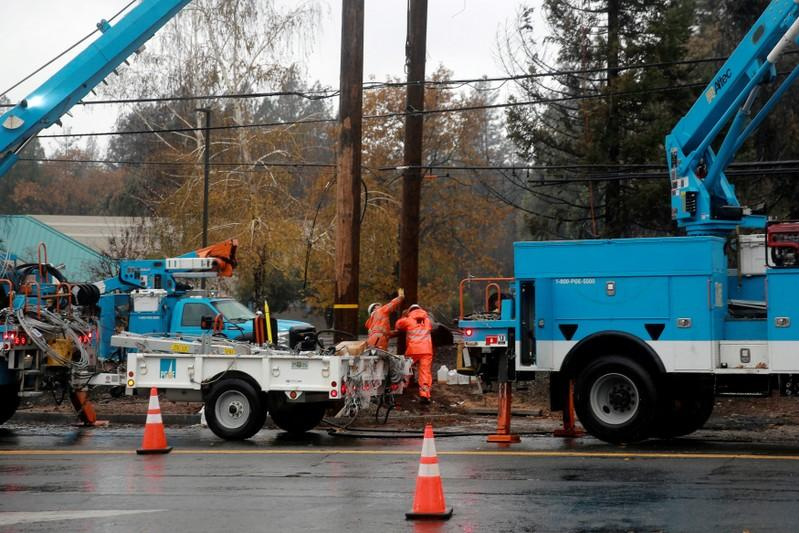Shares of PG&E jump on report of investor group offer