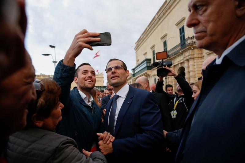Robert Abela sworn in as Maltas new prime minister