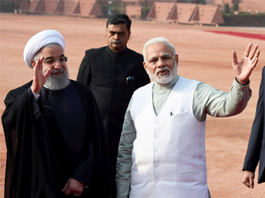 Narendra Modi discusses cooperation in energy, defence, security with Iranian president Hassan Rouhani