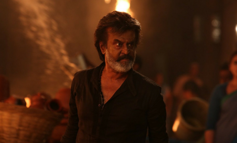 A still of Rajinikanth from Kaala/Image from Twitter.
