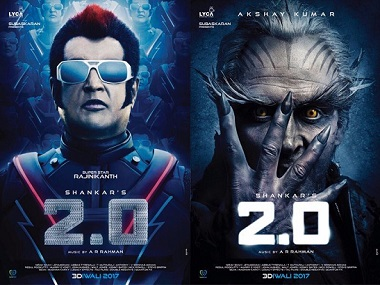 Rajinikanth's 2.0 postponed yet again; exhaustive VFX work may push the films release date to April