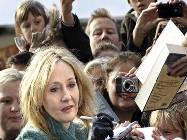 Its here! JK Rowling announces Pottermore