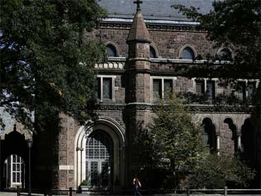 Now, boys, behave yourself; this is Yale, not Lok Sabha