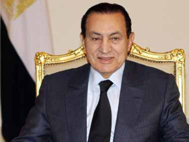 Hosni Mubarak in this file picture. Khaled Desouki/AFP