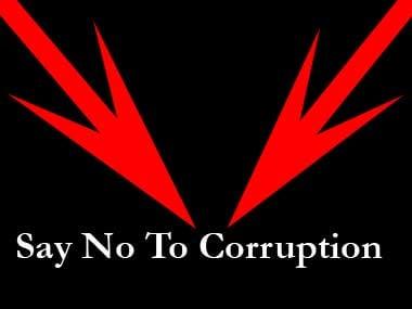 Against corruption.