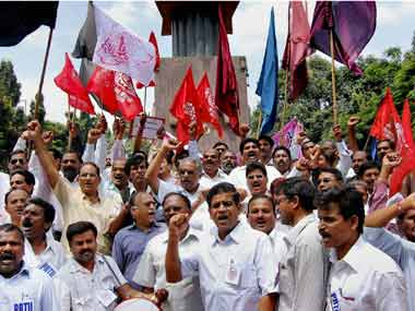 Watch: Telangana strike enters Day 12 in Hyderabad