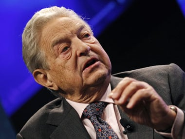 At 81, Soros makes it to Forbes' top 10 US billionaires list