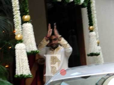 Aishwarya Rai-Bachchan's grand baby shower at Jalsa