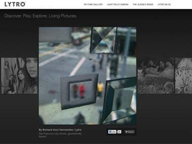 Lytro 3D camera allows users to focus after photos are captured