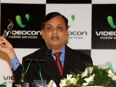 File photo of Videocon Chairman Venugopal Dhoot. AFP