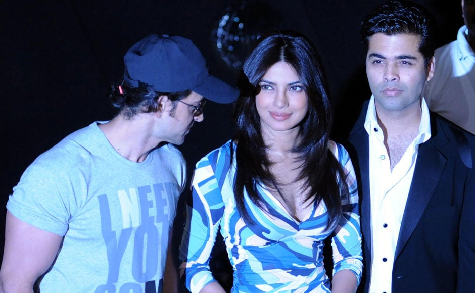 Images: Agneepath cast and crew unveil theatrical trailer