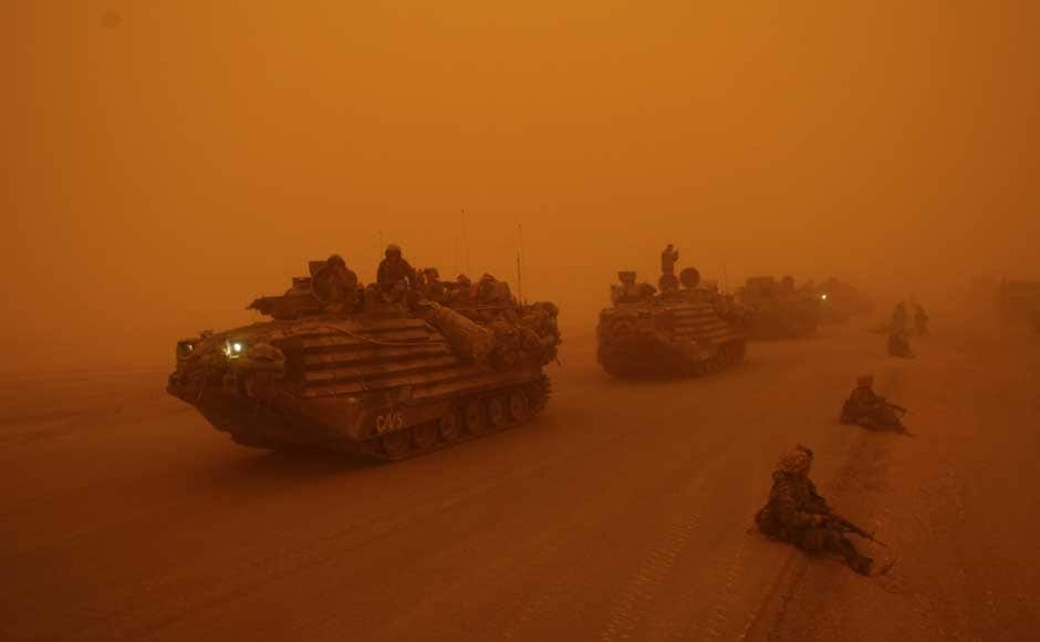 In images, the story of the war in Iraq