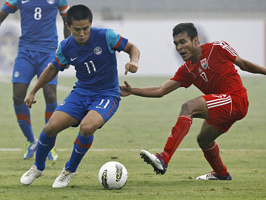 Stellar Chhetri performance puts India in finals of SAFF