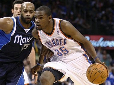 NBA: Durant's last second 3-pointer gives Thunder victory