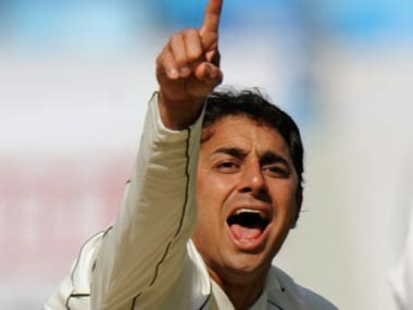 Pakistani off-spinner Saeed Ajmal. Reuters