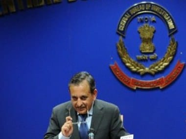 A file photo of CBI Director Amar Pratap Singh. AFP