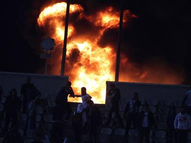 Fans, not constructors responsible for Egypt deaths