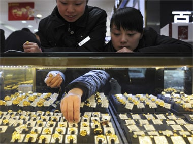 Gold hits 8-week high as investors bet on more gains