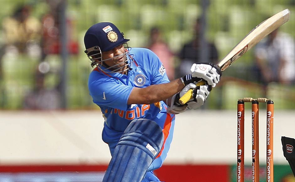 The Wait Is Over, Sachin Gets His 100th Ton