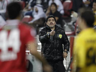 Diego Maradona supports use of video technology in football matches to prevent another Hand of God