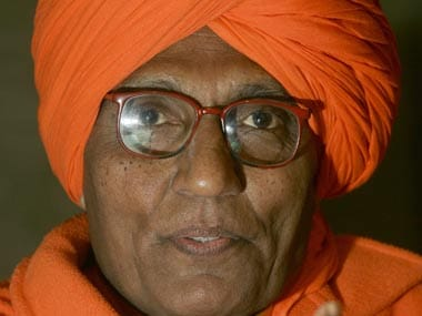 File image of Swami Agnivesh. Reuters