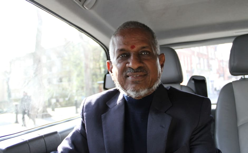 """Ilayaraja in London to record the tracks of a new Tamil movie titled """"Nee Thane En Ponvasantham"""". Firstpost"""
