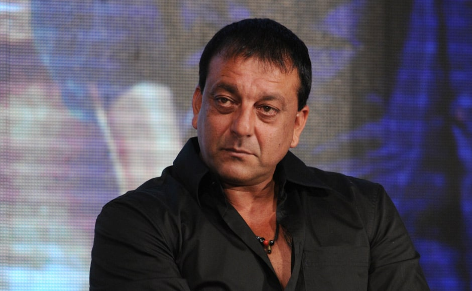 Sanjay Dutt at a press conference to unveil the first look of Ram Gopal Varma's next film, Department. Raju Shelar/ Firstpost