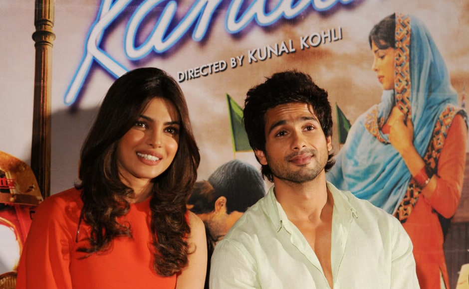 This is the second film that Shahid and Priyanka have done together after Vishal Bhardwaj's Kaminey. Raju Shelar/ Firstpost