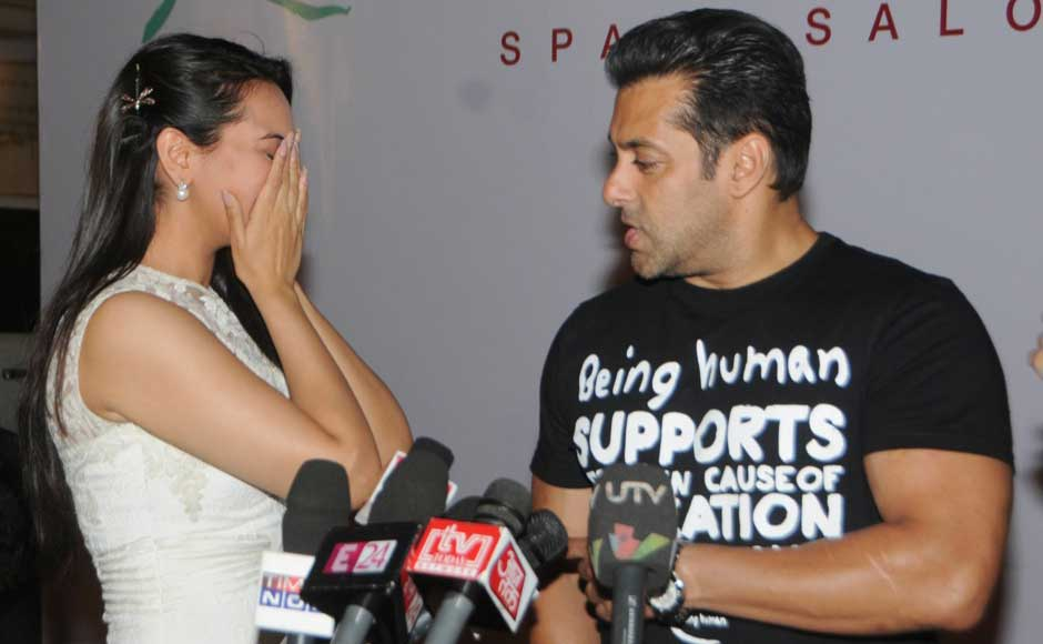 Sonakshi Sinha and Salman Khan. Raju Shelar/ Firstpost