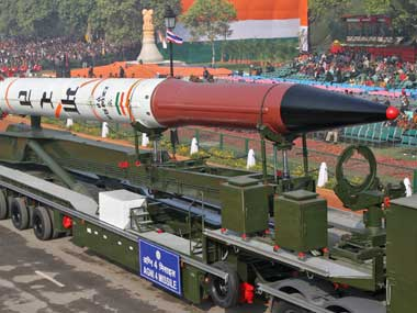 China critical of Agni-V launch, says India being swept by missile delusion