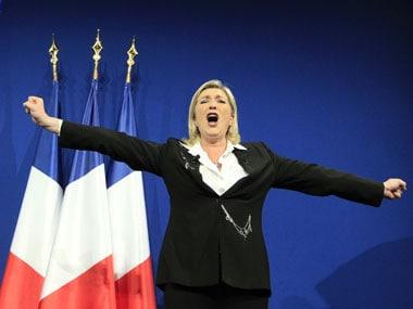 File image of Marine Le Pen. Reuters