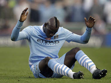 Manchester City's Balotelli is a genius of a different kind. Reuters