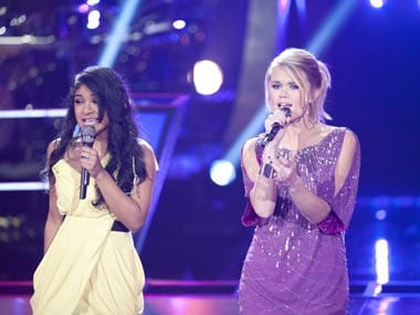 Indian-American Sharon Mathai hits a high note on 'The Voice'