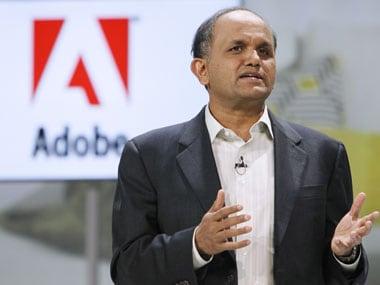 File image of Adobe CEO Shantanu Narayen. Reuters