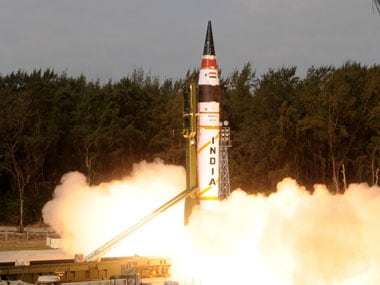 Agni missile project will go on: India