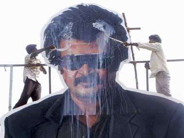 The meeting of titans: Rajinikant surprises Big B in Chennai
