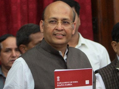 After resignation, Singhvi stays away from Parliament