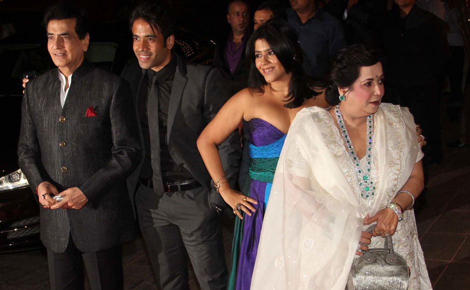 JEETENDRA, TUSSHAR, EKTA AND SHOBHA KAPOOR. Firstpost