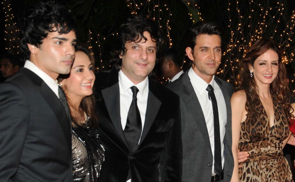 NATASHA AND FARDEEN KHAN, HRITHIK AND SUSSANNE ROSHAN. Firstpost