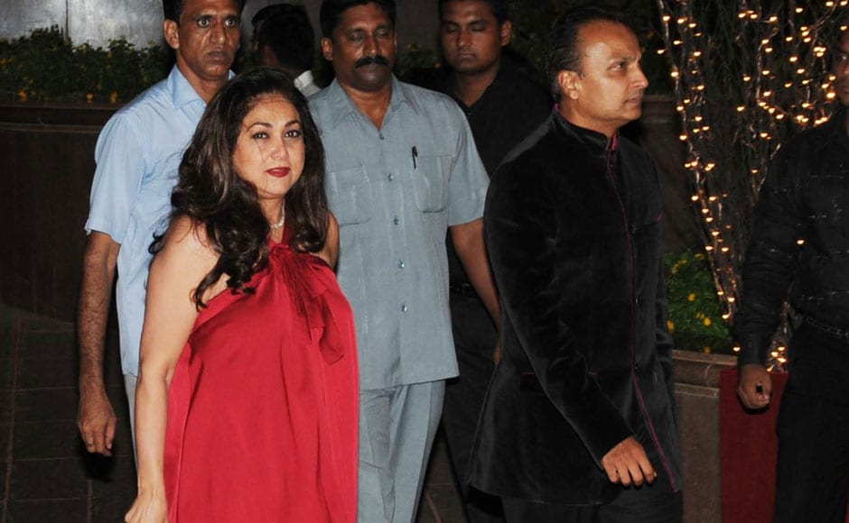 TINA AND ANIL AMBANI. Firstpost