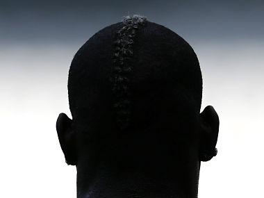 Italy's Balotelli attends a training session. Reuters