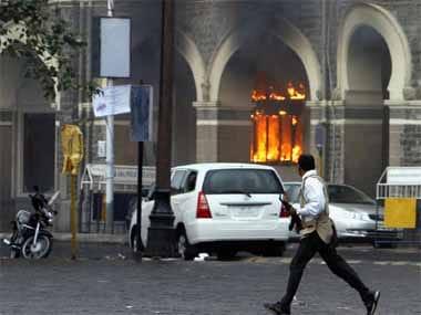 File photo of the 2008 Mumbai attacks. Reuters