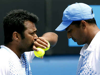 Bhupathi and Leander haven't been on talking terms. Reuters
