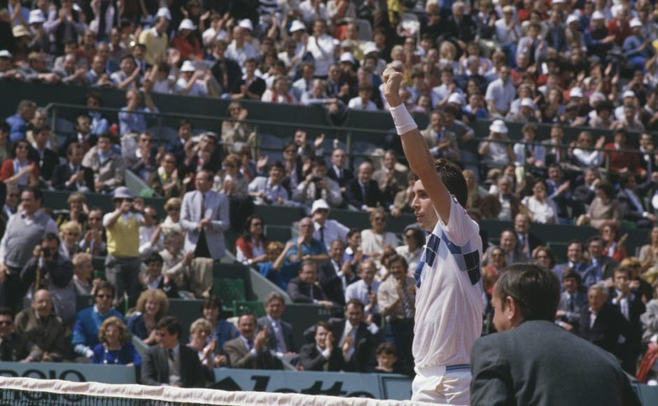 Ivan Lendl was No. 1 for 270 weeks. Steve Powell/Getty Images