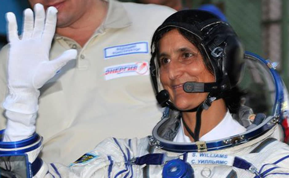 Images: Sunita Williams takes off on second space mission