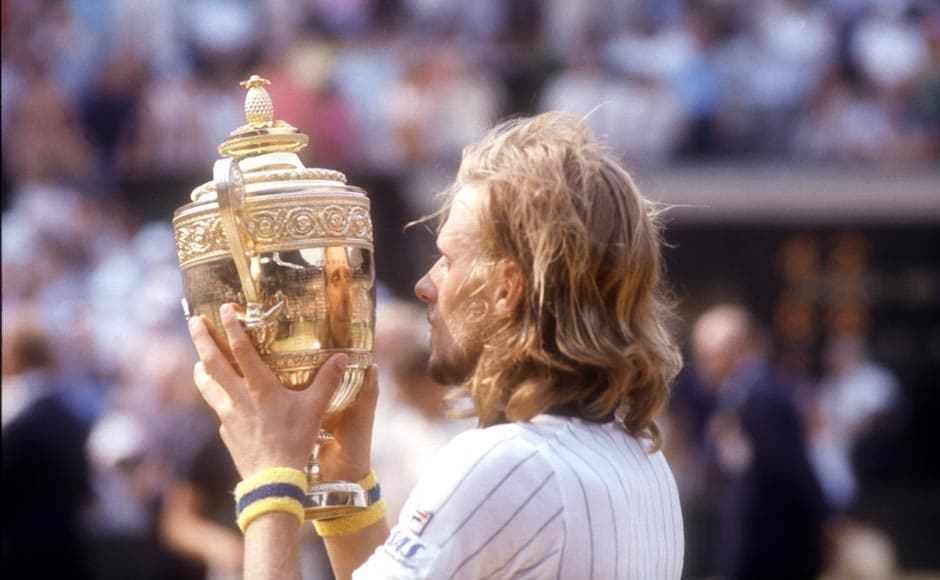 Bjorn Borg was No. 1 for 109 weeks. Tony Duffy/ALLSPORT/Getty Images
