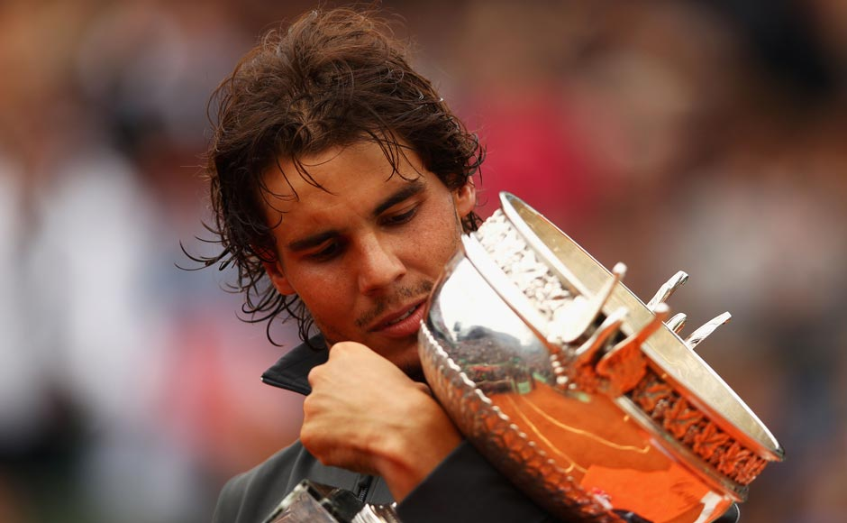 Nadal was No. 1 for 103 weeks. Clive Brunskil/Getty Images