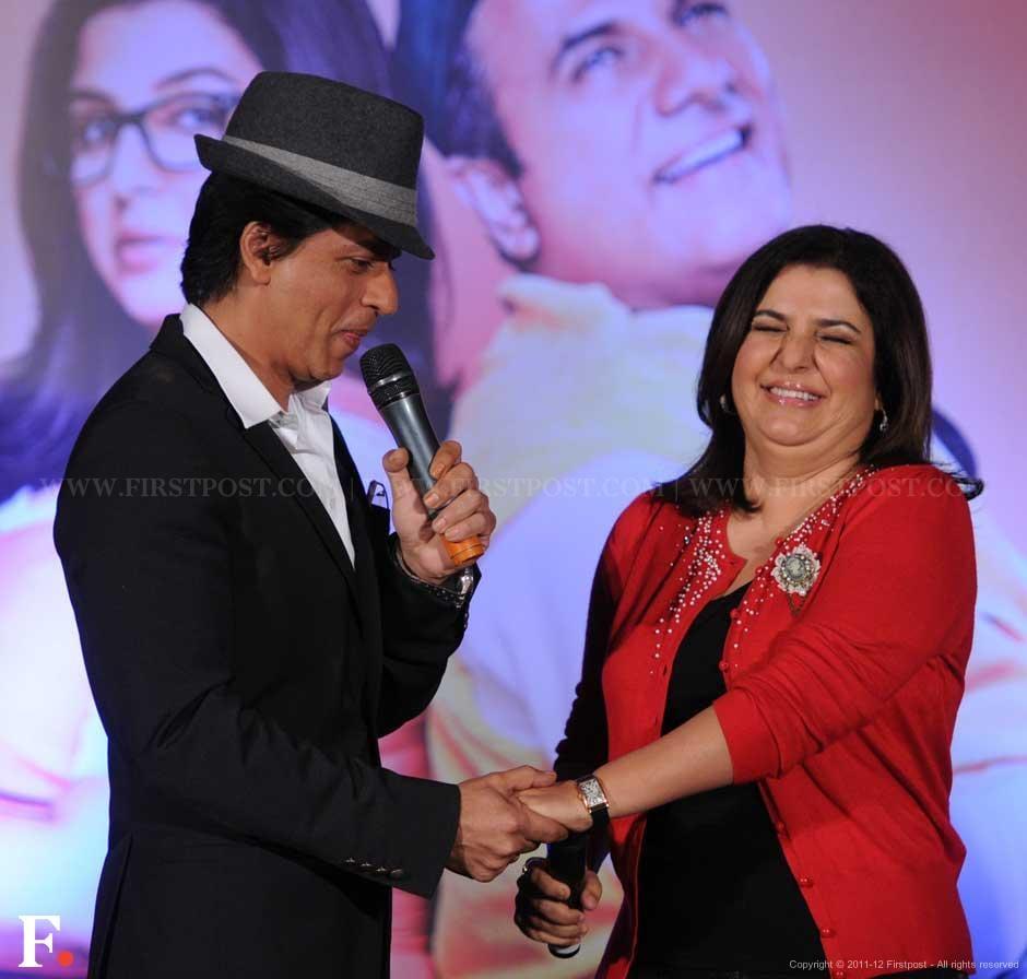 Shah Rukh and Farah . Sachin Gokhale/Firstpost.